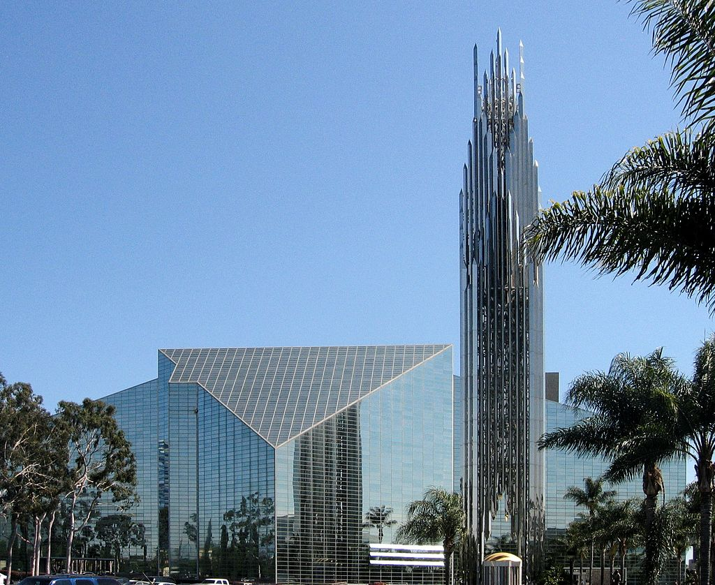 15 Works of Philip Johnson Every Architect should visit - Christ Cathedral, US