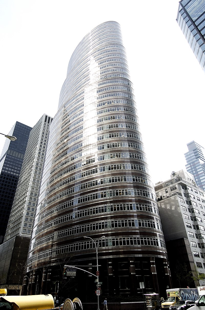 15 Works of Philip Johnson Every Architect should visit - Lipstick Building, US