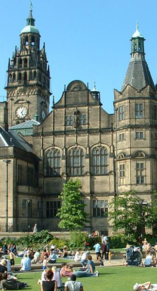 10 Iconic Buildings that define the skyline of Sheffield - Sheffield Town Hall