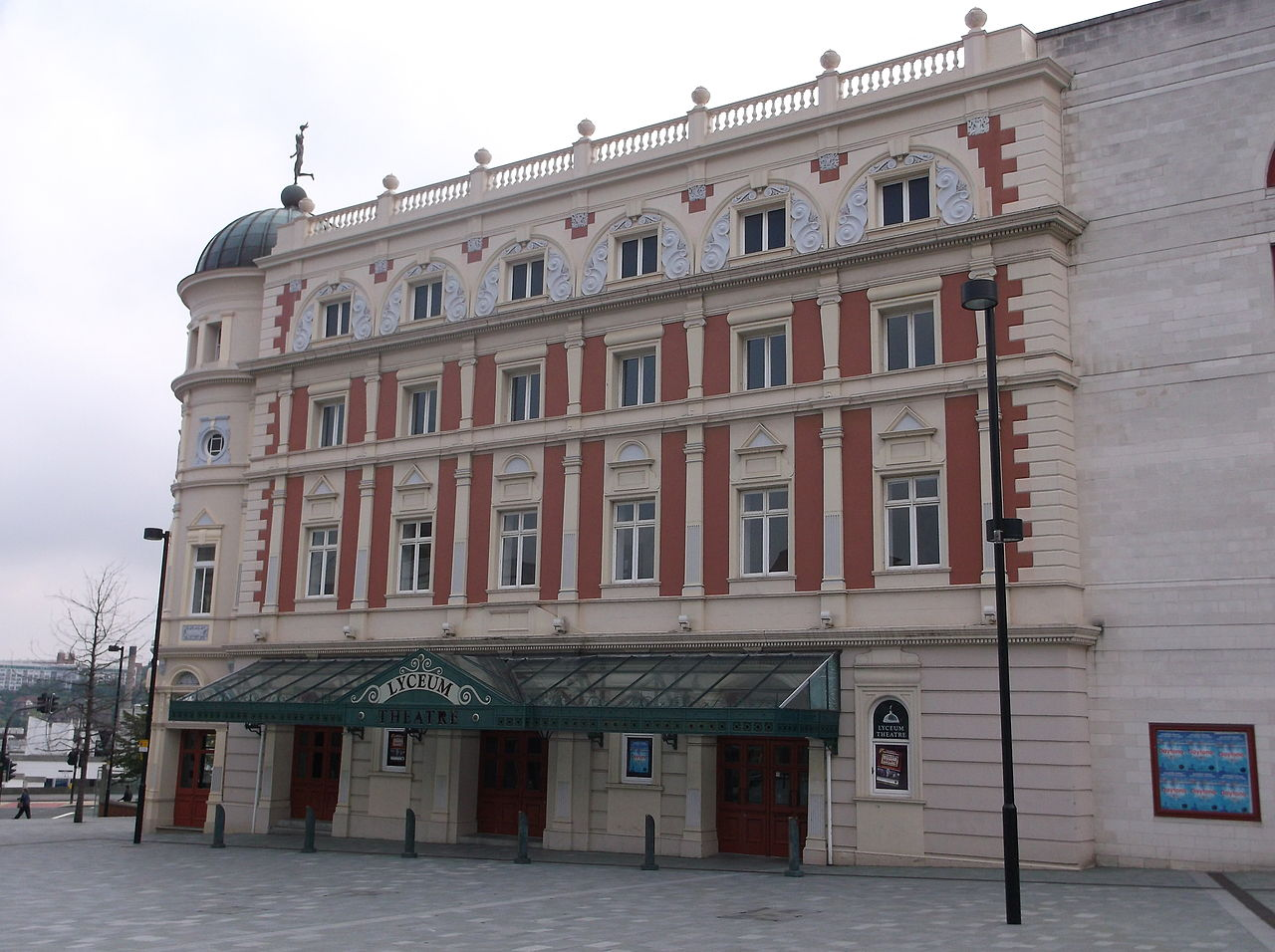 10 Iconic Buildings that define the skyline of Sheffield - Lyceum Theatre