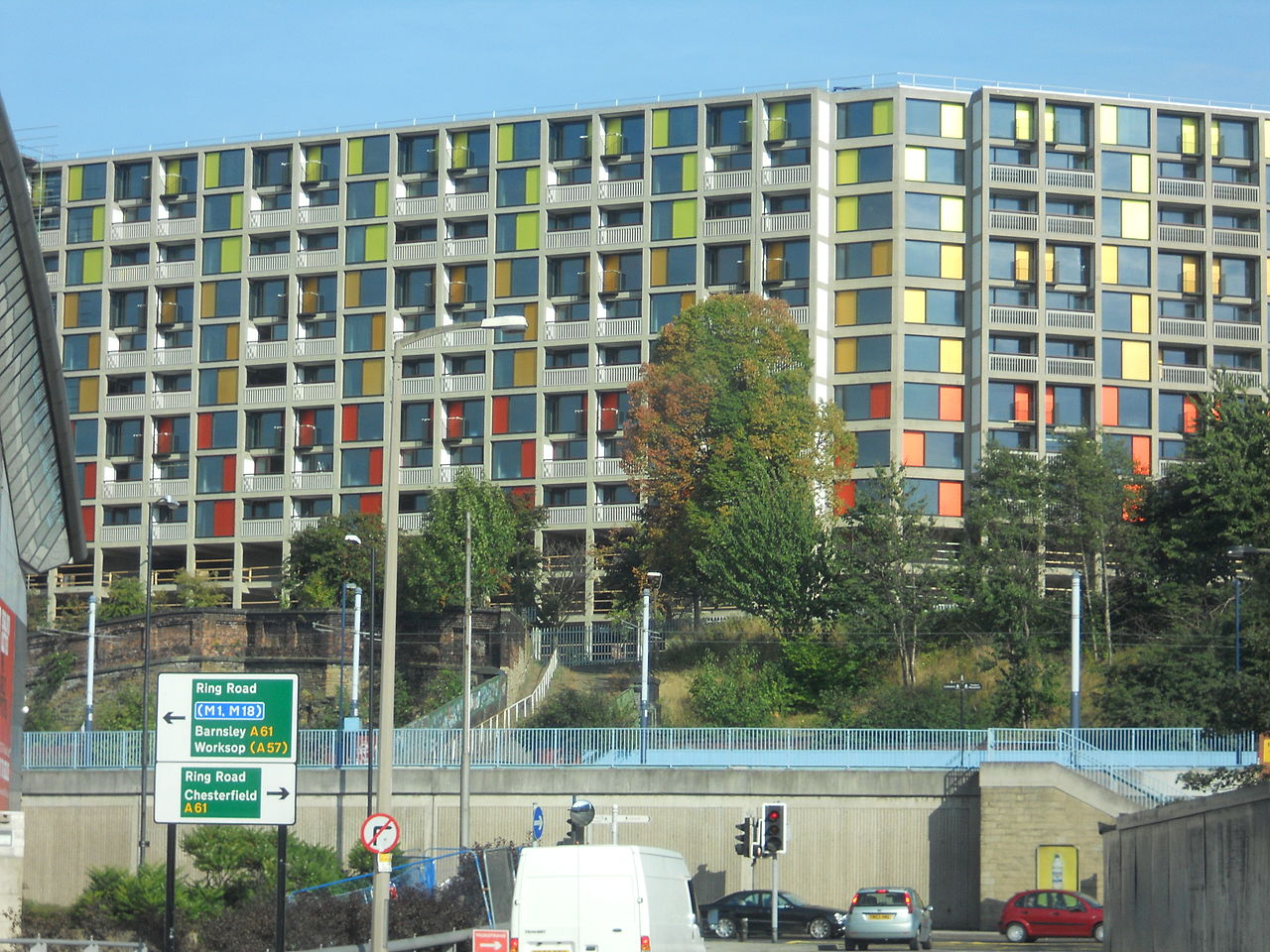 10 Iconic Buildings that define the skyline of Sheffield - Park Hill