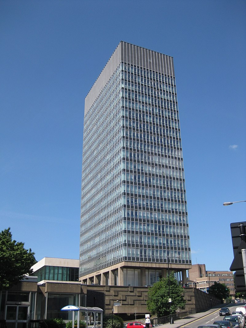 10 Iconic Buildings that define the skyline of Sheffield - Arts Tower