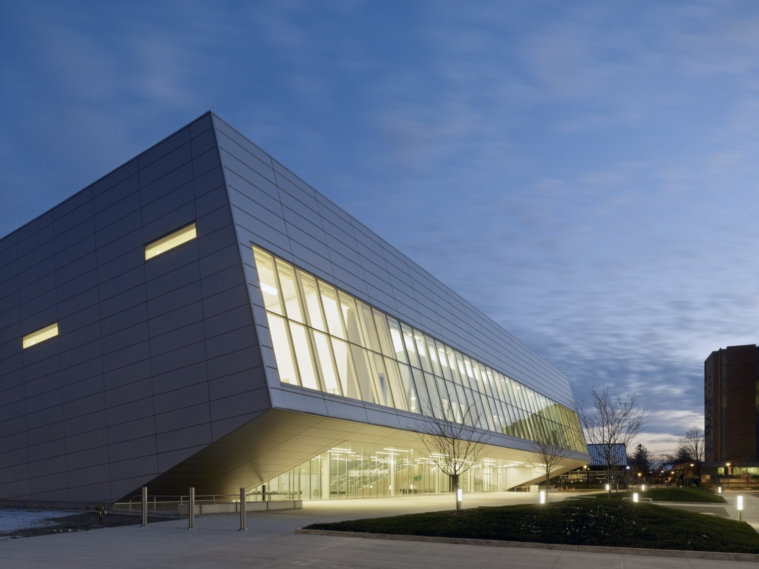 25 Works of Snøhetta Every Architect should visit - Wolfe Center for the Collaborative Arts