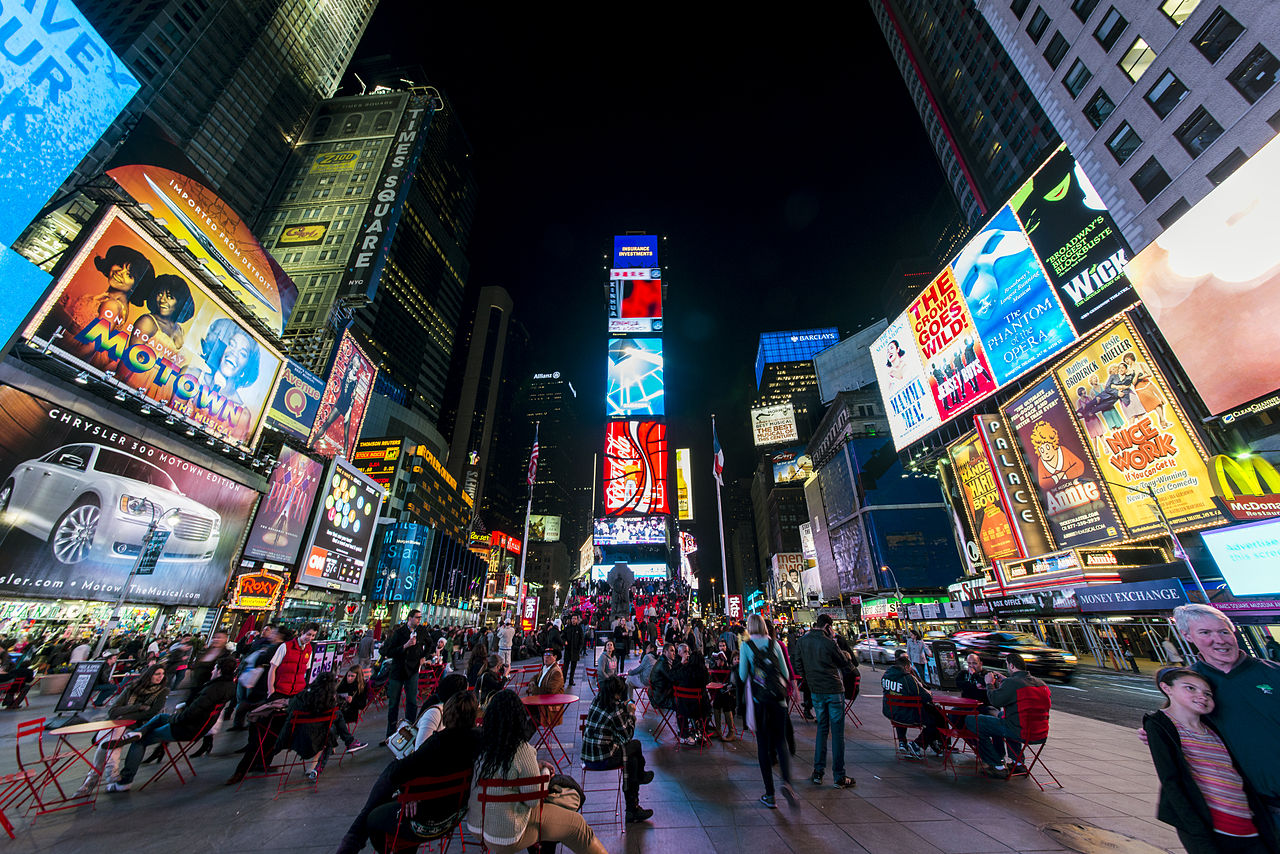 25 Works of Snøhetta Every Architect should visit - Times Square, USA