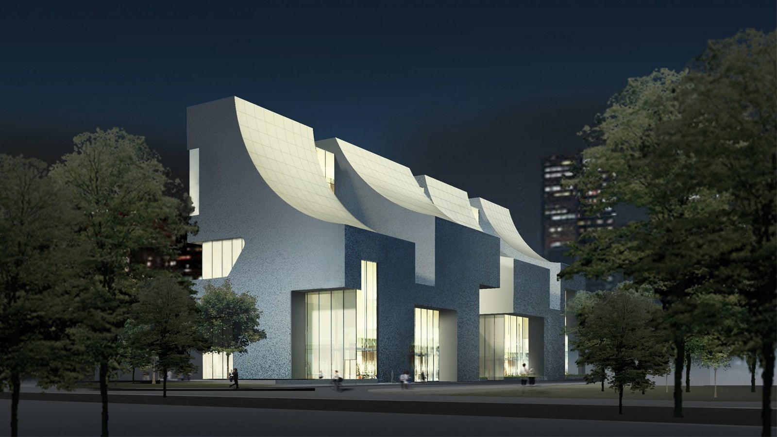 25 Projects by Steven Holl that mark his shift from Typology to Phenomenology - CIFI, Beijing