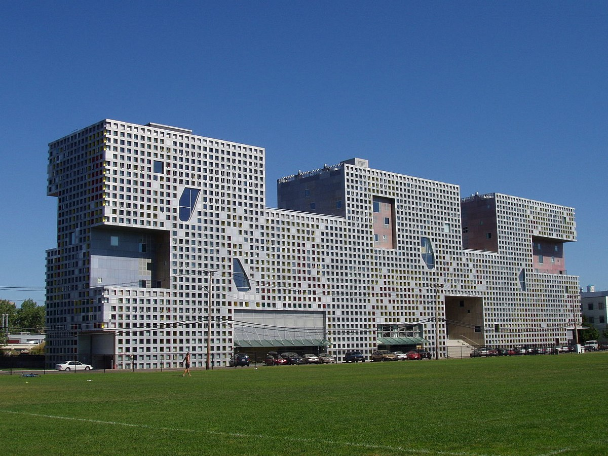 25 Projects by Steven Holl that mark his shift from Typology to Phenomenology - Simmons Hall, USA