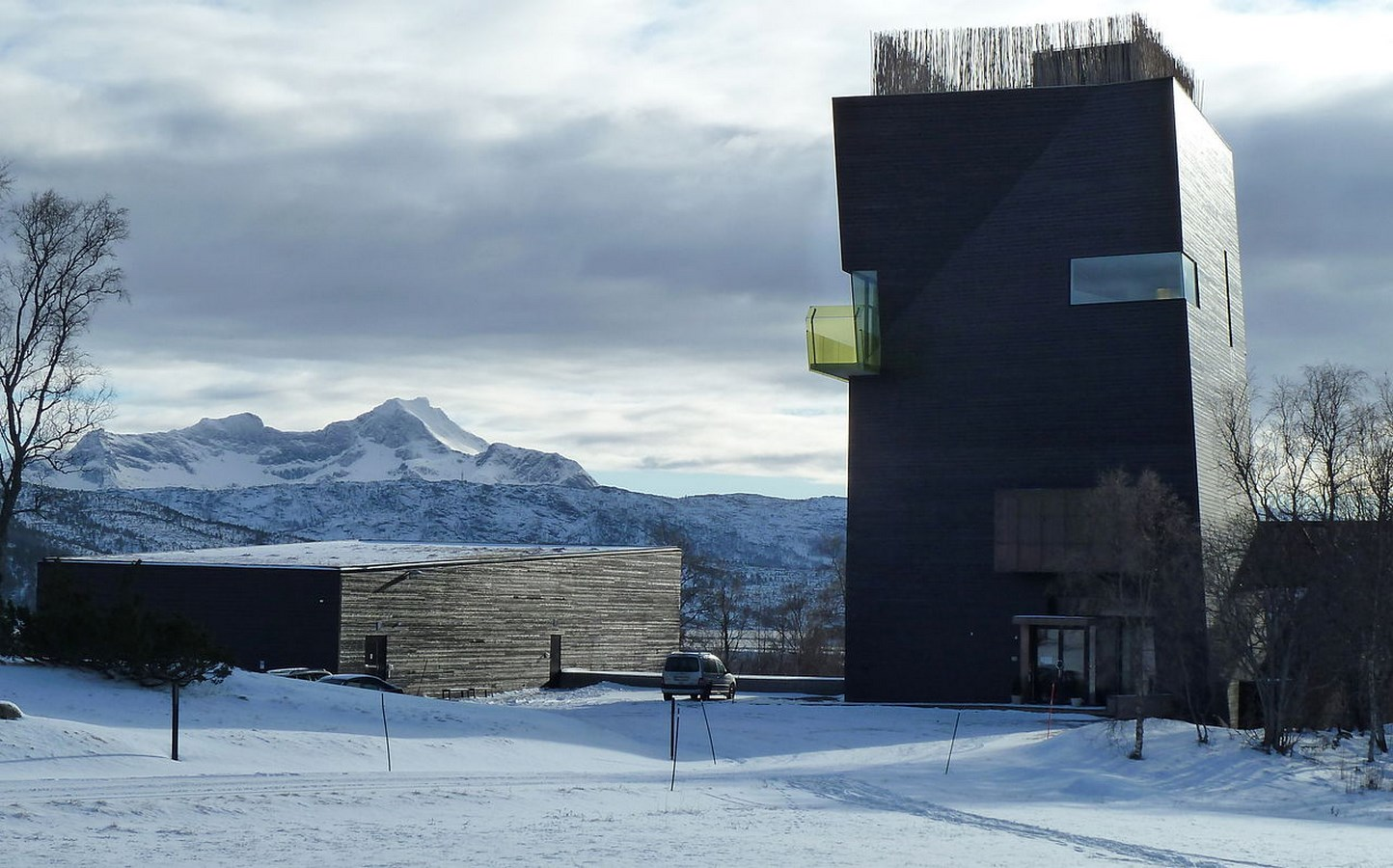 25 Projects by Steven Holl that mark his shift from Typology to Phenomenology - Knut Hamsun Centre, Norway
