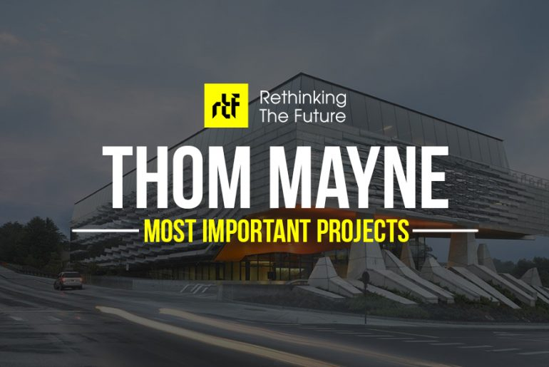 20 Projects by Thom Mayne that will take you into a Sci-Fi Universe