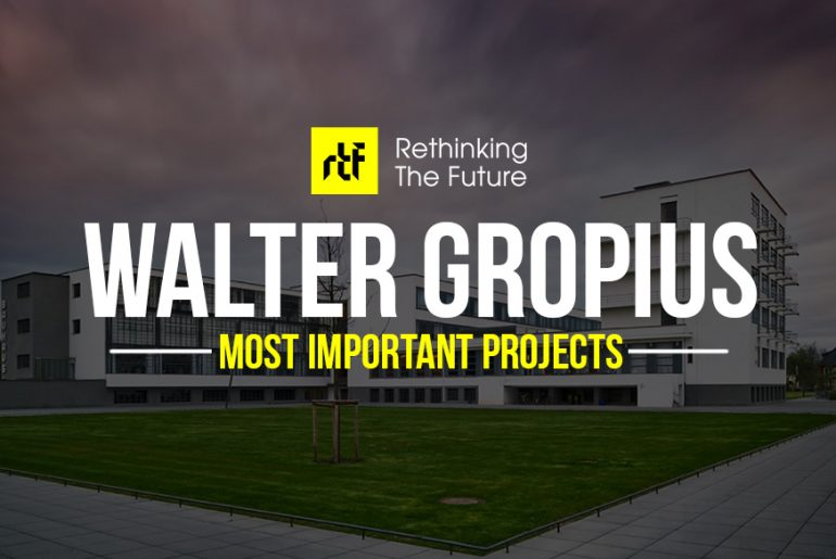 20 Projects that made Walter Gropius the pioneer of Modern Architecture