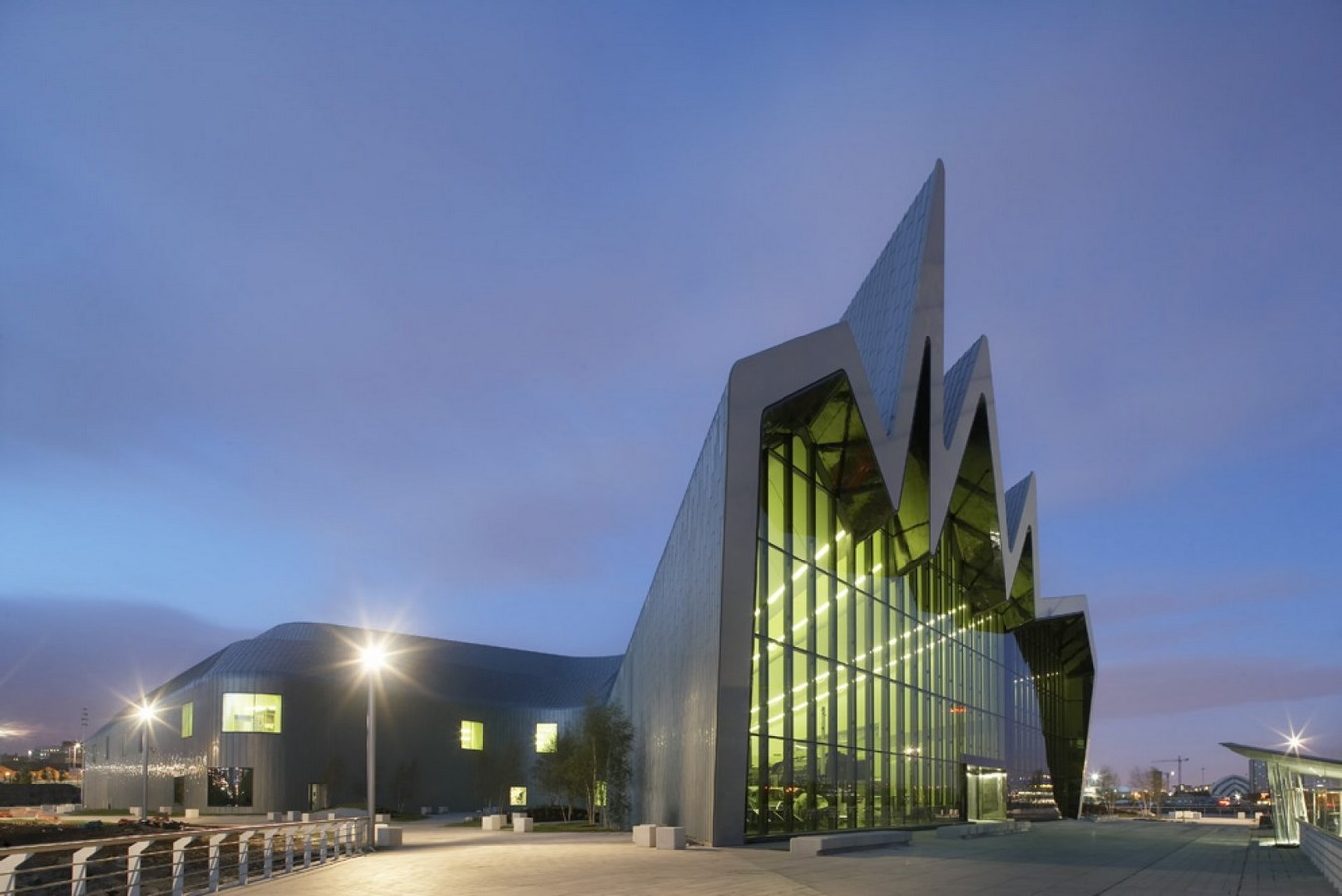 30 Projects That Define Zaha Hadid's Style - Glasgow Riverside Museum of Transport