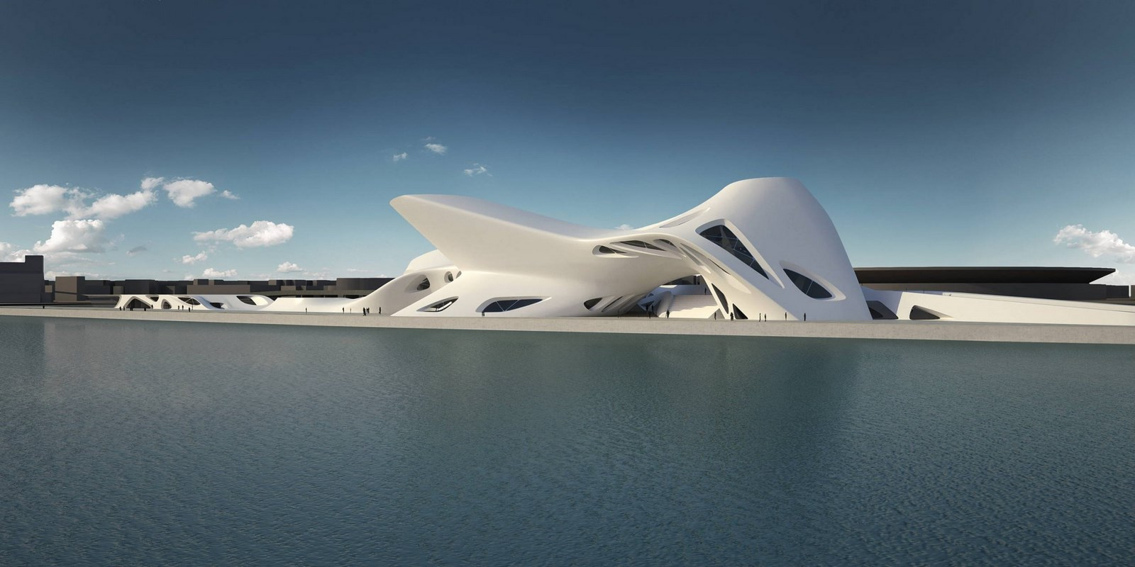 30 Projects That Define Zaha Hadid's Style - Nuragic and Contemporary Art Museum, Italy