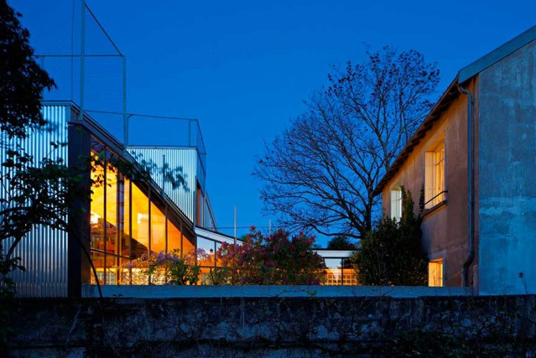 The Landscape House By Mabire Reich Architects