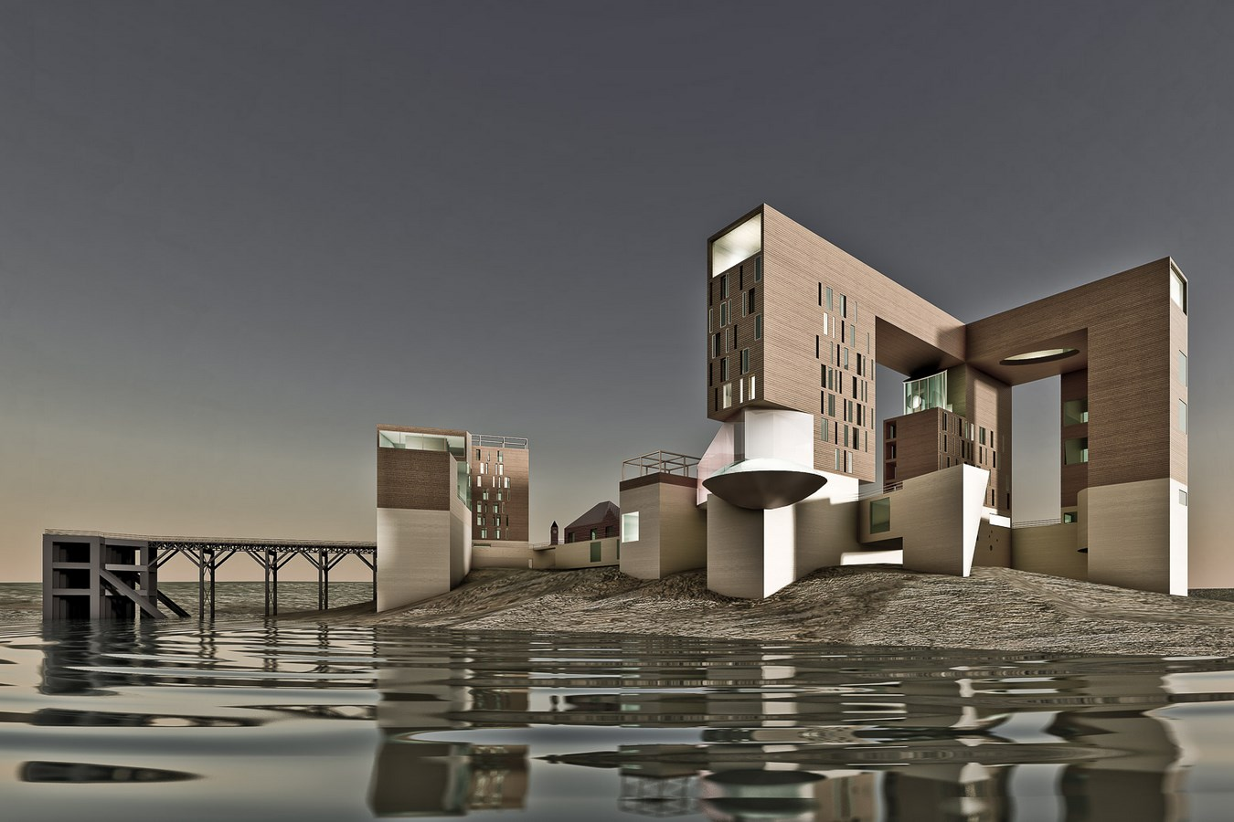 10 Projects of Antonino Cardillo every Architect must visit! - Birnbeck Island - Sheet2