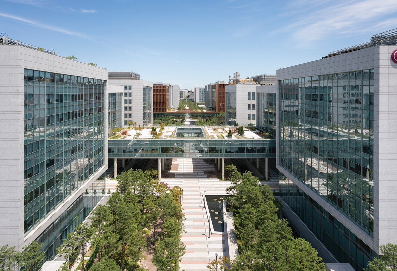 15 Projects by HOK Architects every Architect should know about - LG Science Park