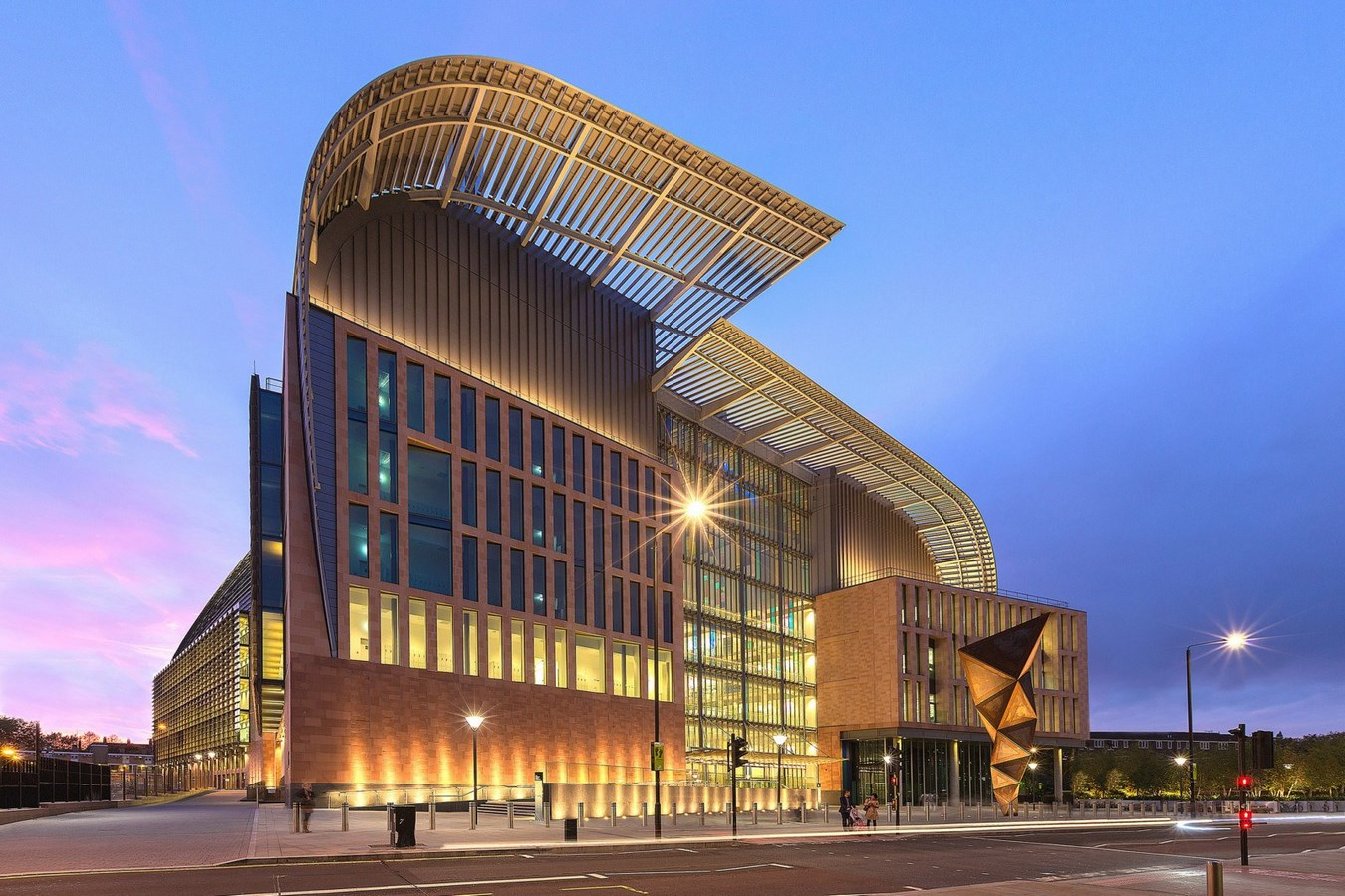 15 Projects by HOK Architects every Architect should know about - The Francis Crick Institute