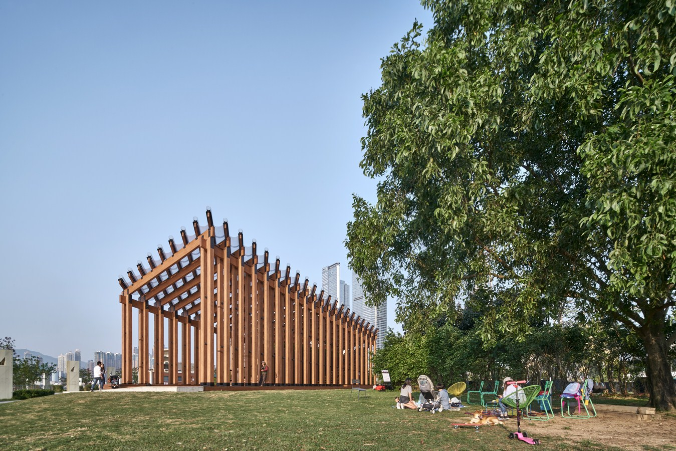 Growing Up Pavilion By New Office Works - Sheet2