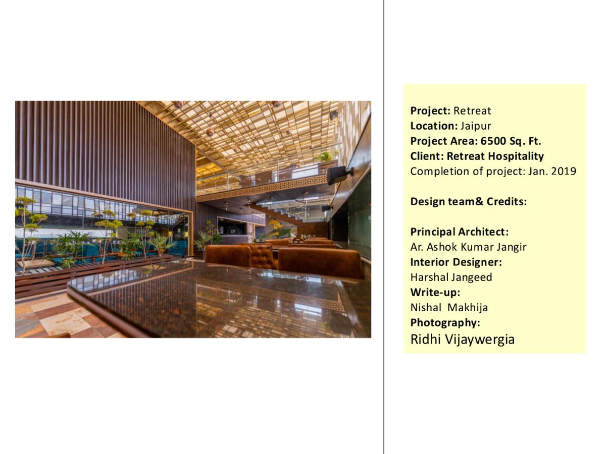 Retreat By Ashoka Design Studio