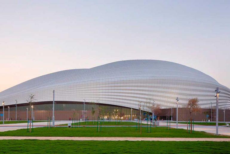Al Janoub Stadium By Zaha Hadid Architects