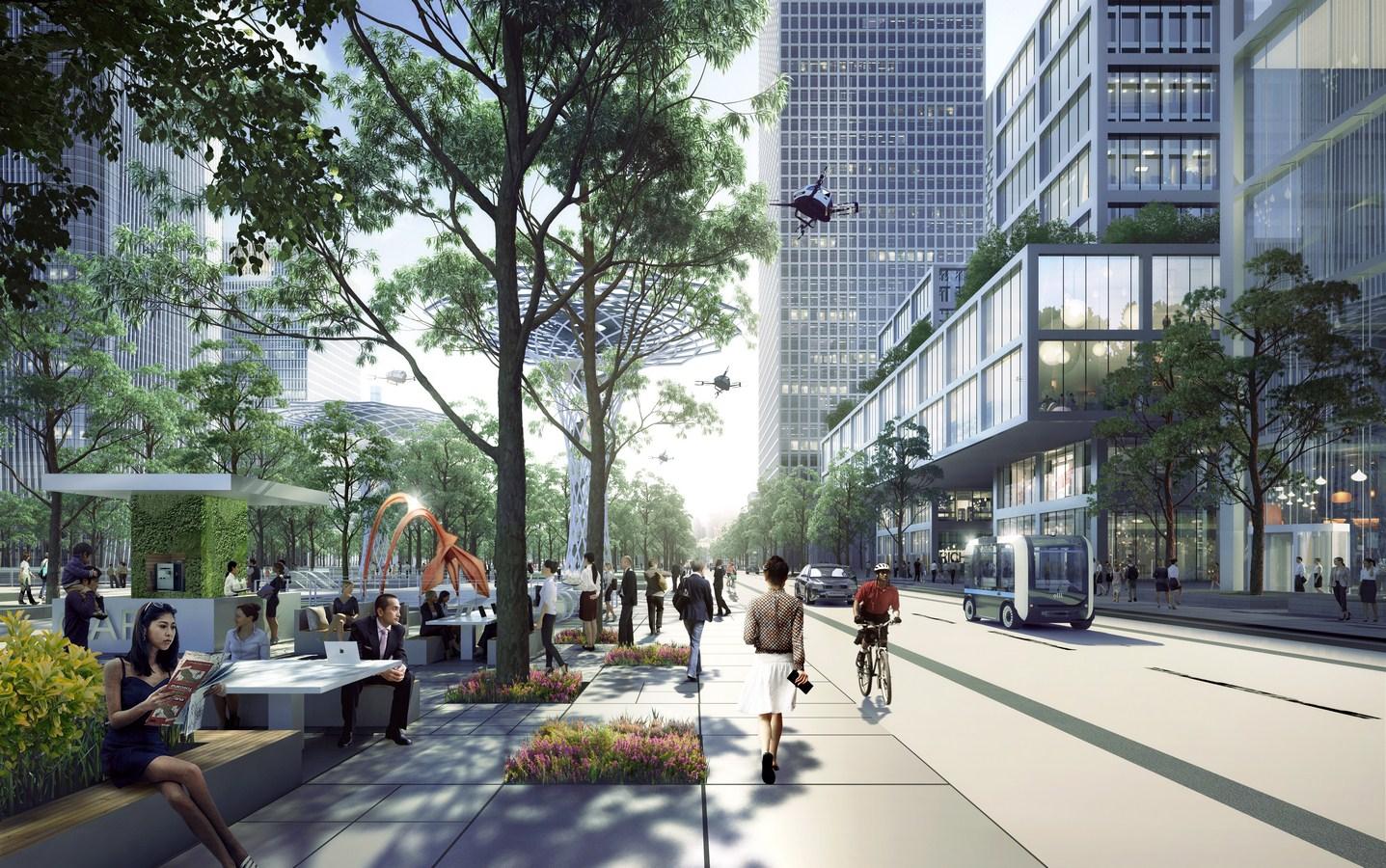 Shenzhen Bay Headquarters City by Henning Larsen - Sheet8