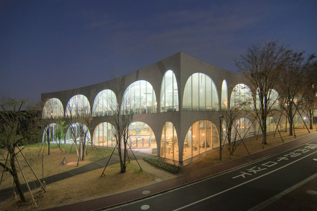 100 Best Architecture Projects of the 21st Century - Tama Art University Library, Tokyo Japan. Most Striking Buildings in Tokyo Japan