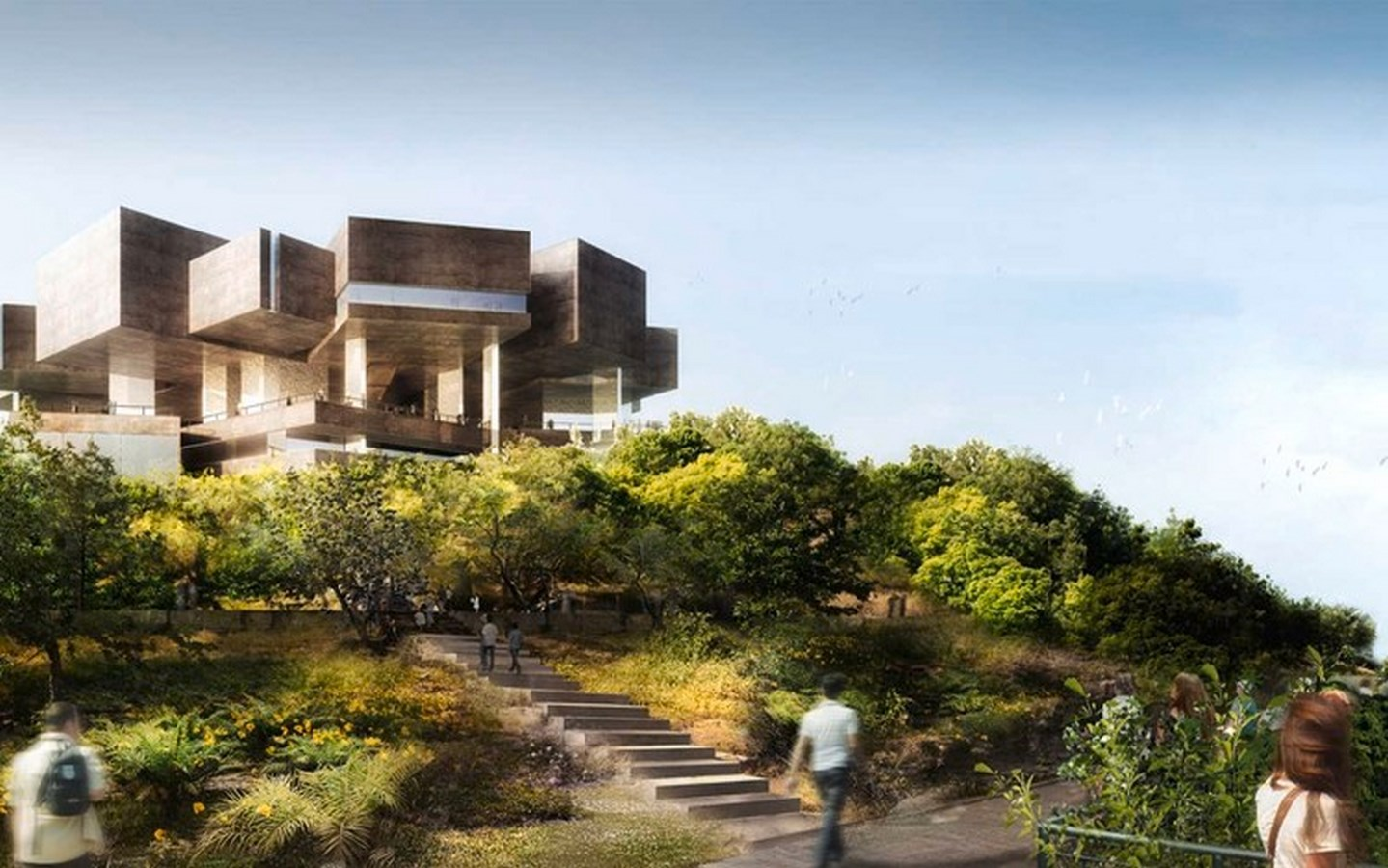 25 Iconic Projects by Herzog & de Meuron every Architect Should Know - BARRANCA MUSEUM OF MODERN AND CONTEMPORARY ART - Sheet2