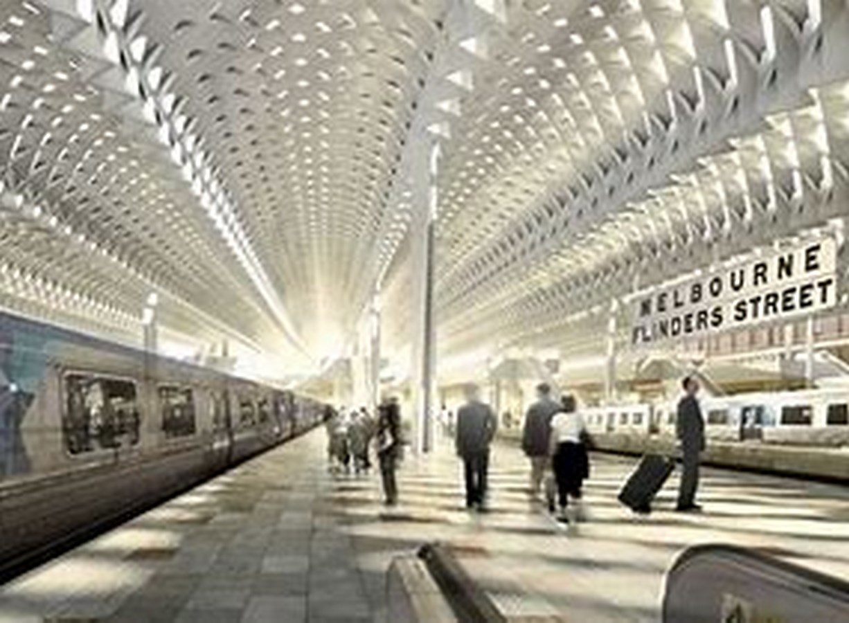 25 Iconic Projects by Herzog & de Meuron every Architect Should Know - FLINDERS STREET STATION, MELBOURNE, AUSTRALIA - Sheet1