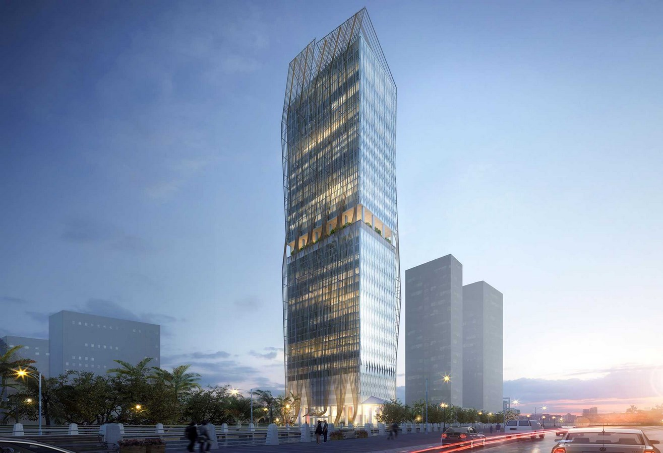 25 Projects by HKS Architects every Architect Should Know about - Diamond Island Tower