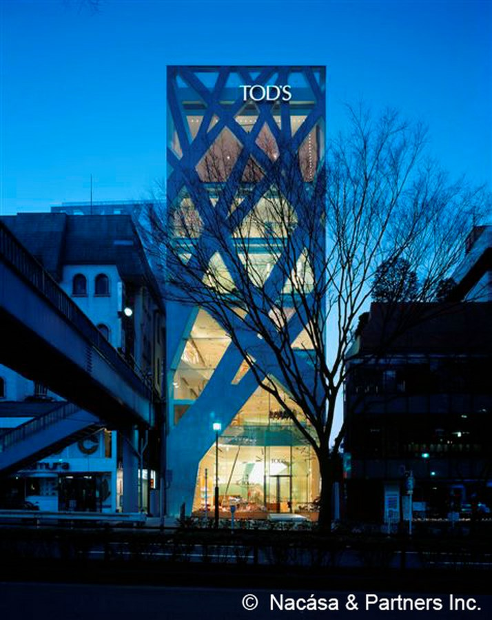 """20 Hi-tech Projects by Toyo Ito Architect Every Architect should visit - TOD""""S, Japan"""
