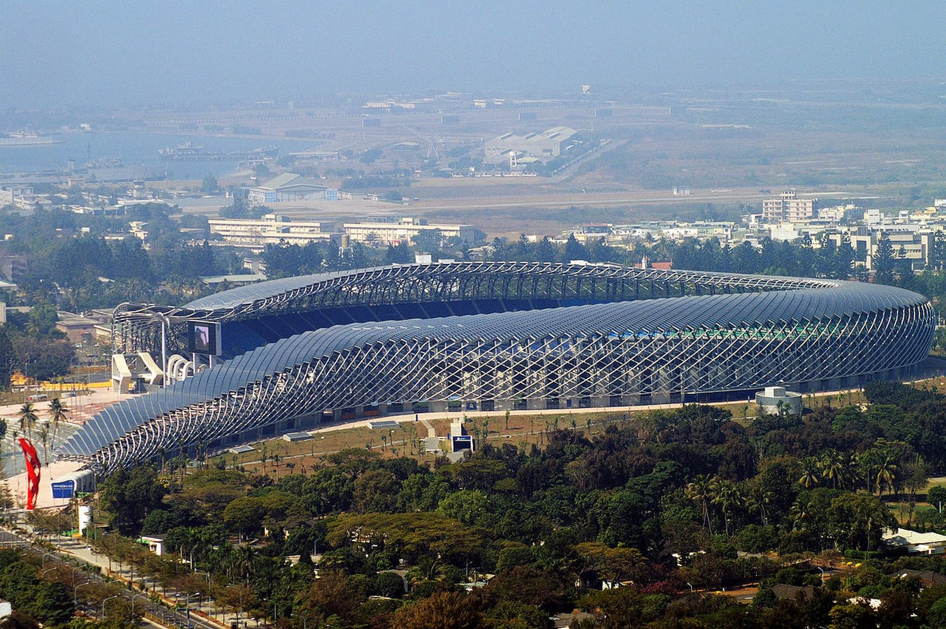 20 Hi-tech Projects by Toyo Ito Architect Every Architect should visit - Kaohsiung National Stadium, Taiwan