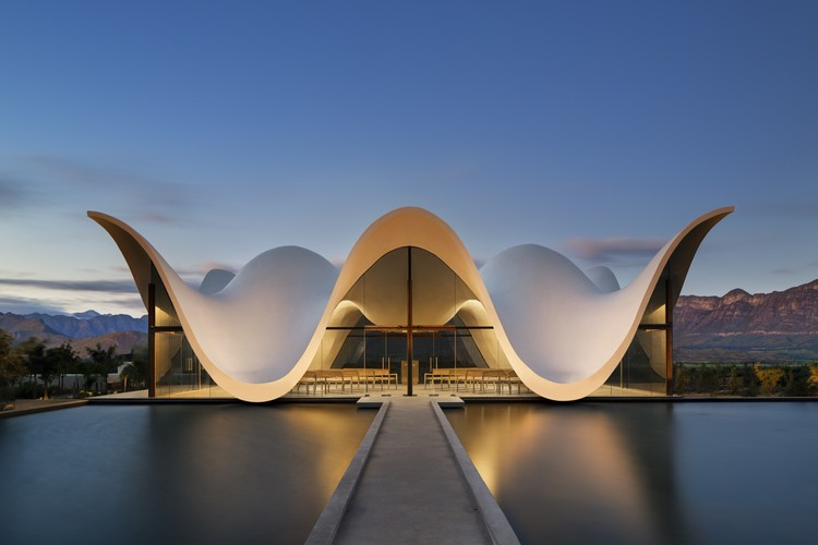 100 Best Architecture Projects of the 21st Century - Bosjes Chapel, Worcester, South Africa by Steyn Studio.
