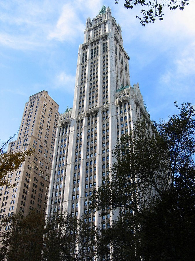 60 Most Famous Buildings in New York - Woolworth Building