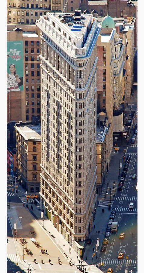 60 Most Famous Buildings in New York - Flatiron Building