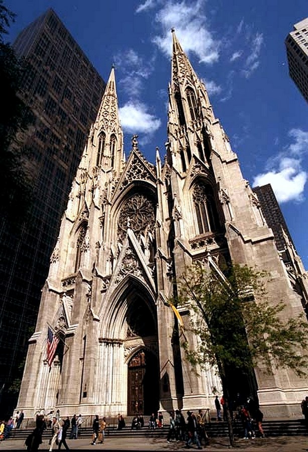 60 Most Famous Buildings in New York - The Cathedral of St. Patrick