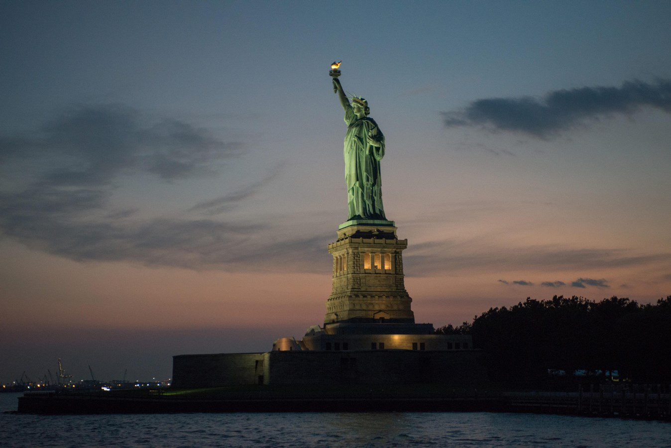 60 Most Famous Buildings in New York - The Statue of Liberty National Monument