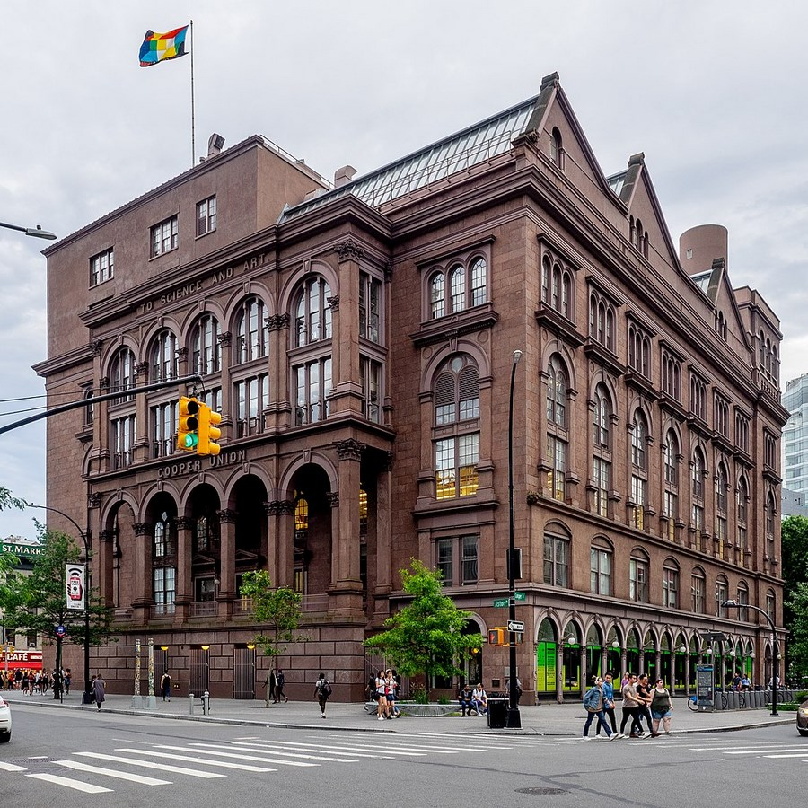 60 Most Famous Buildings in New York - The Cooper Union for the Advancement of Science and Art