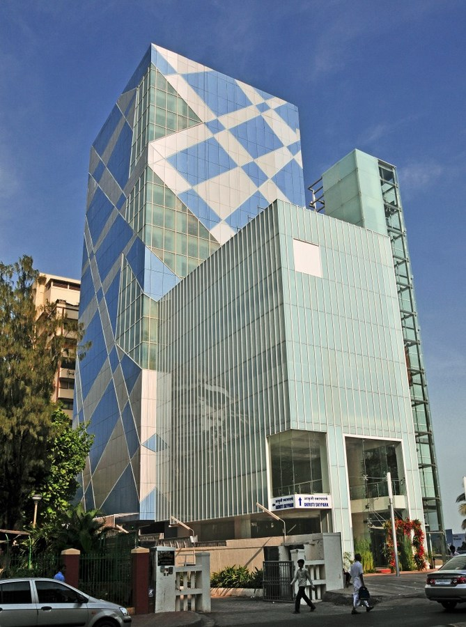 20 Iconic Projects By Hafeez Contractor - Aakriti Skypark, Mumbai