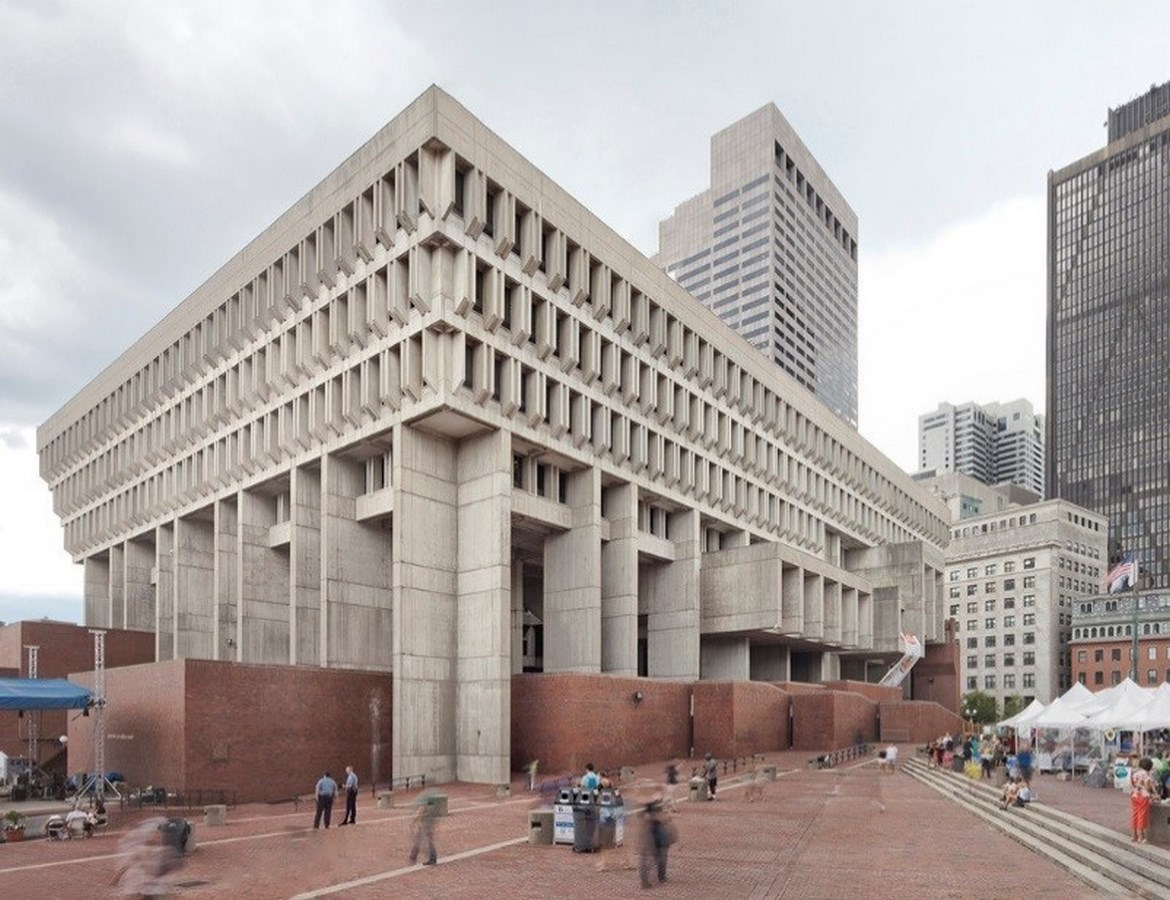 25 Most Iconic Structures In Boston - OSTON CITY HALL - Sheet1