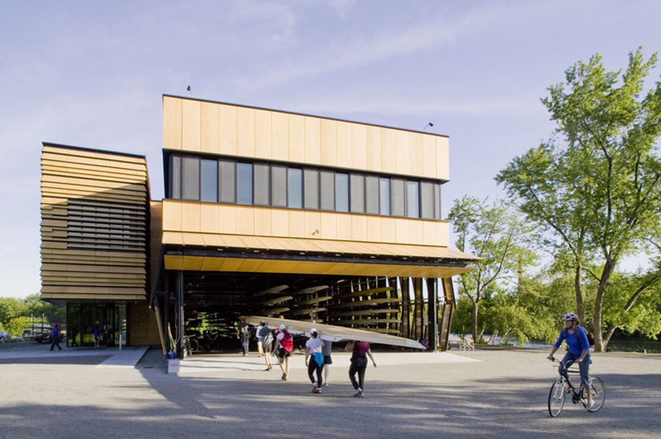 25 Most Iconic Structures In Boston - COMMUNITY ROWING BOATHOUSE - Sheet1