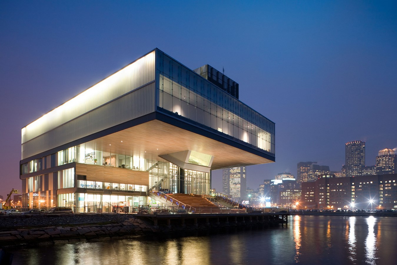25 Most Iconic Structures In Boston - INSTITUTE OF CONTEMPORARY ART