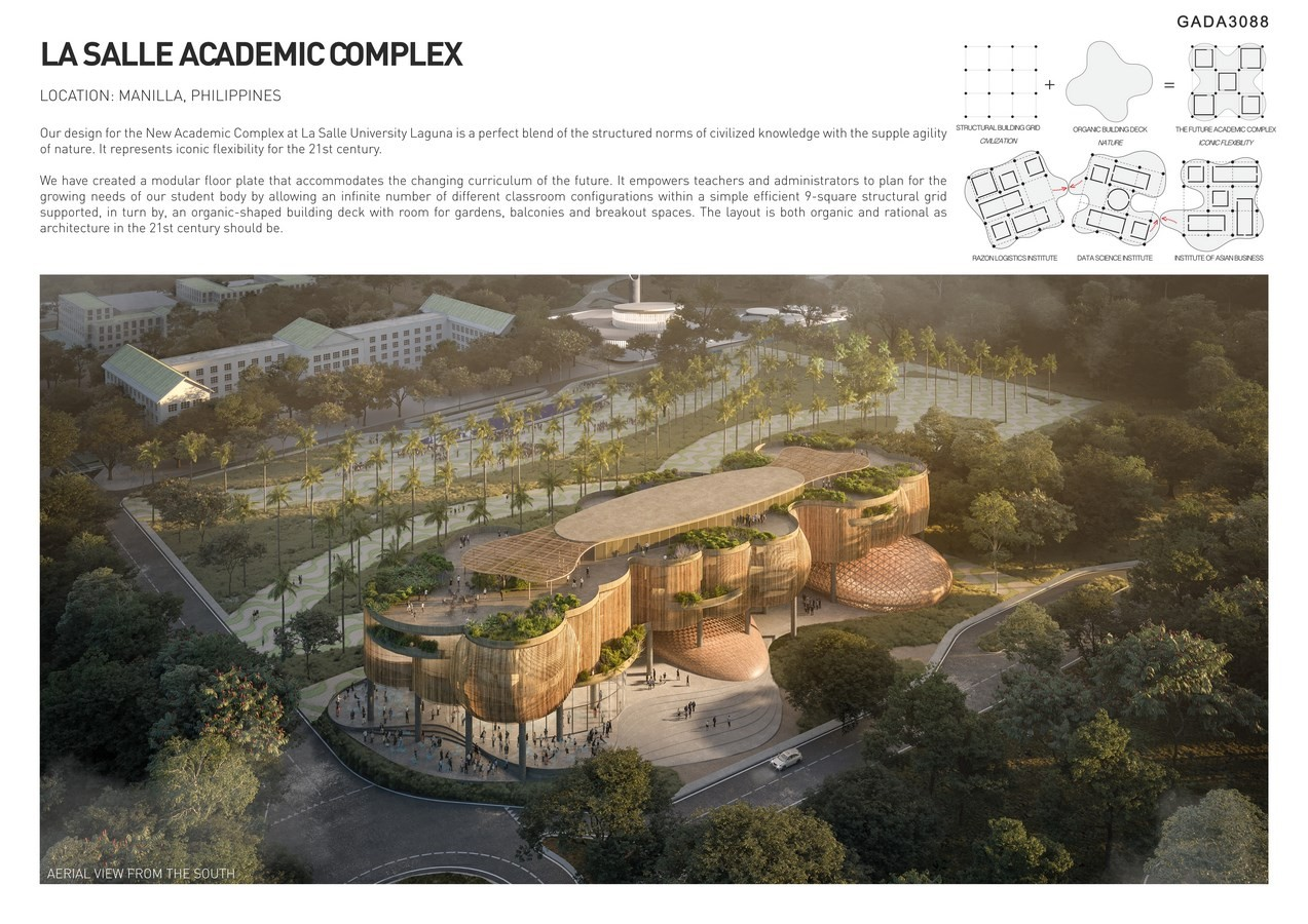 La Salle Academic Complex by CAZA - Sheet1