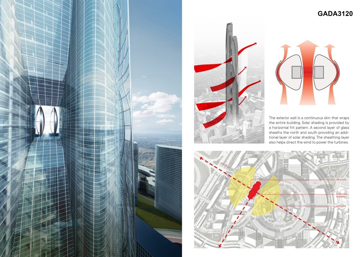 Signature Tower One by Adrian Smith + Gordon Gill Architecture - Sheet4
