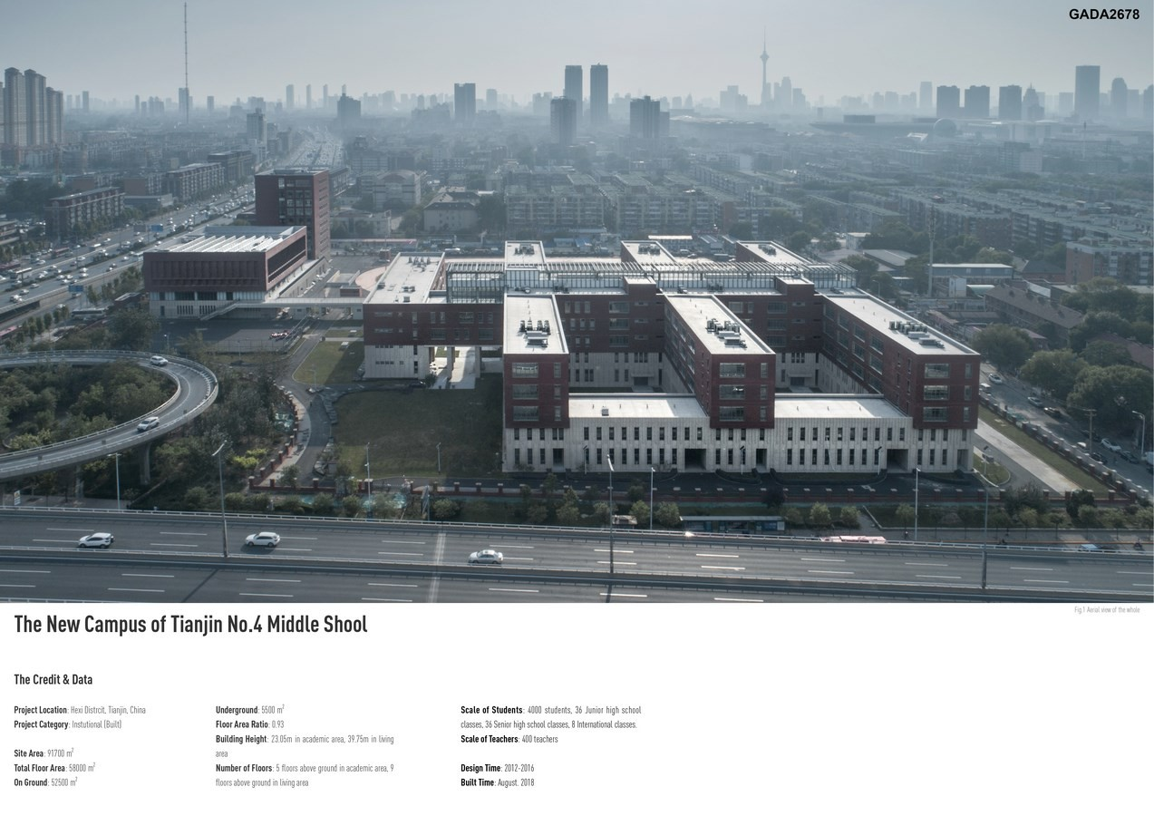 The New Campus of Tianjin No.4 Middle School by RSAA Büro Ziyu Zhuang - Sheet2