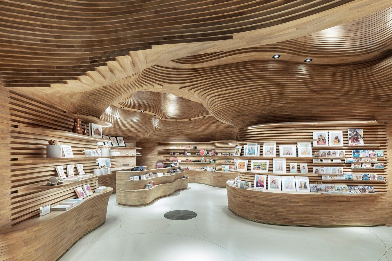 National Museum of Qatar Shop Interiors By Koichi Takada Architects - Sheet3