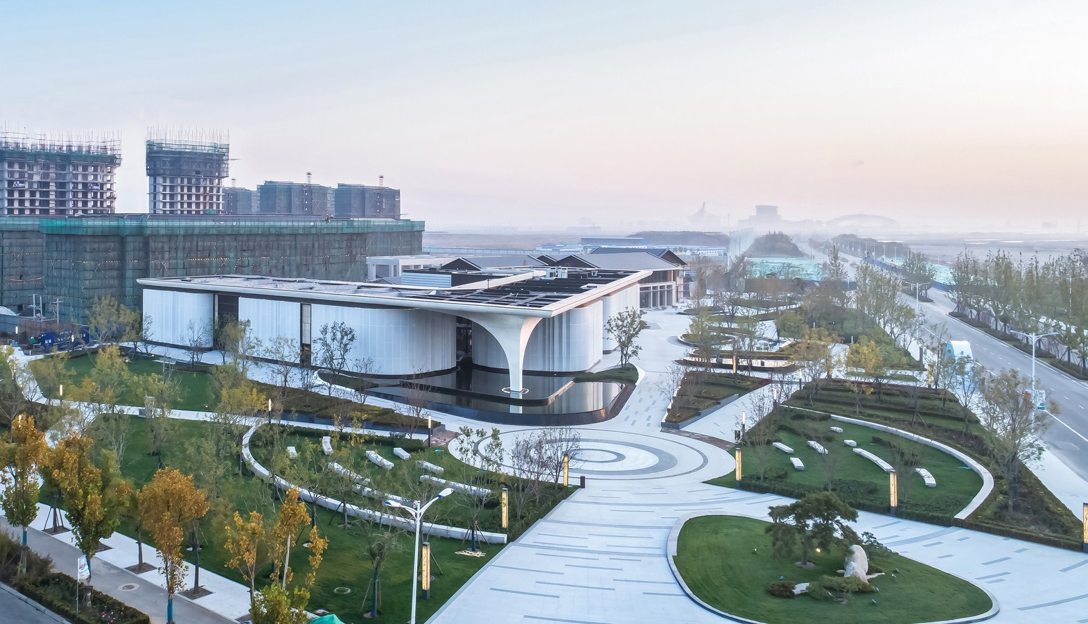 Tangshan Blue Bay Town Life Experience Hall By GOA - Sheet1