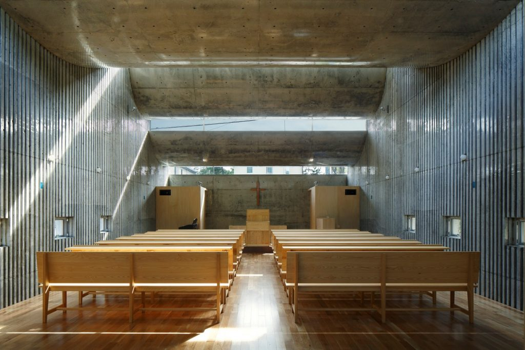 SHONAN CHRIST CHURCH By Takeshi Hosaka architects