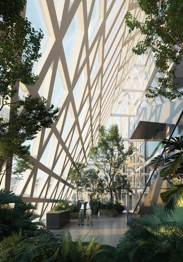 The Futian Civic Culture Center in Shenzhen By Mecanoo - Sheet6