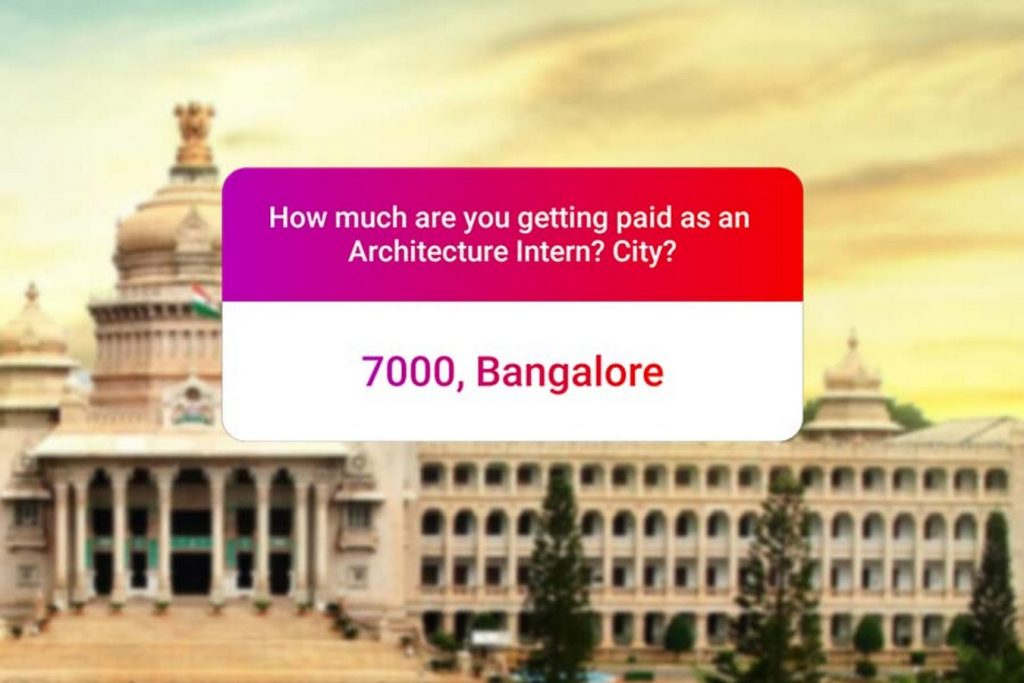 We asked how much Architecture interns get paid in India.. and the results are SAD and HILARIOUS at the same time - Bangaluru
