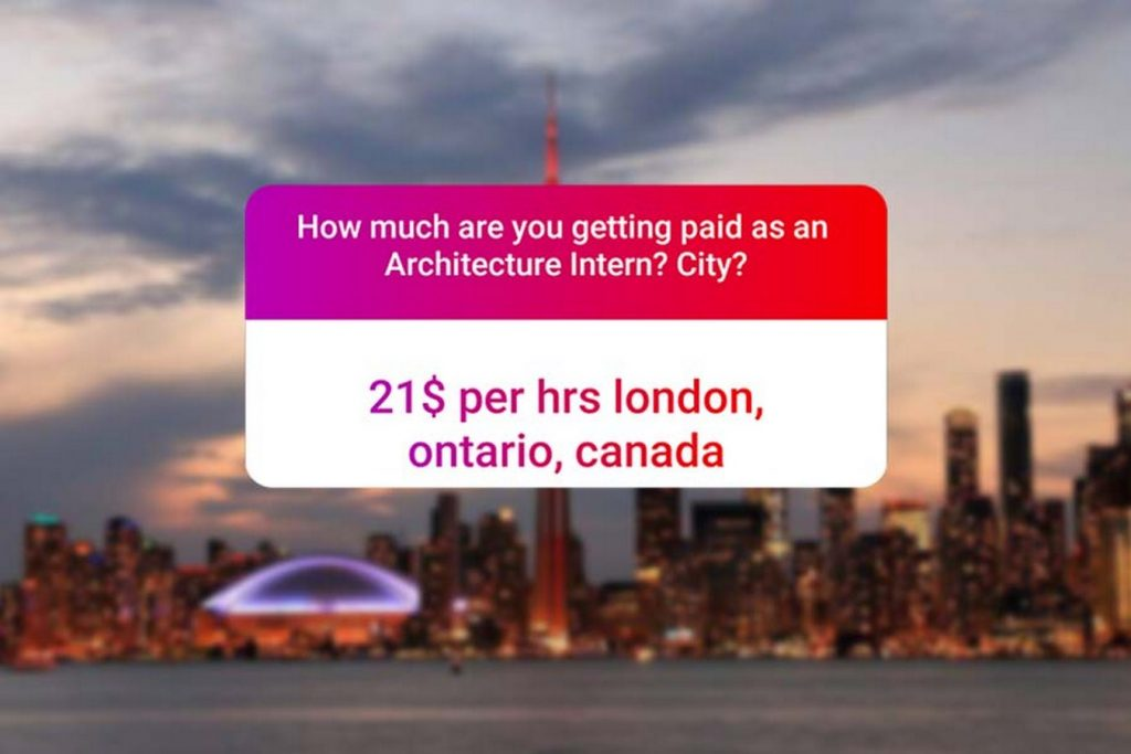 We asked how much Architecture interns get paid in India.. and the results are SAD and HILARIOUS at the same time - canada