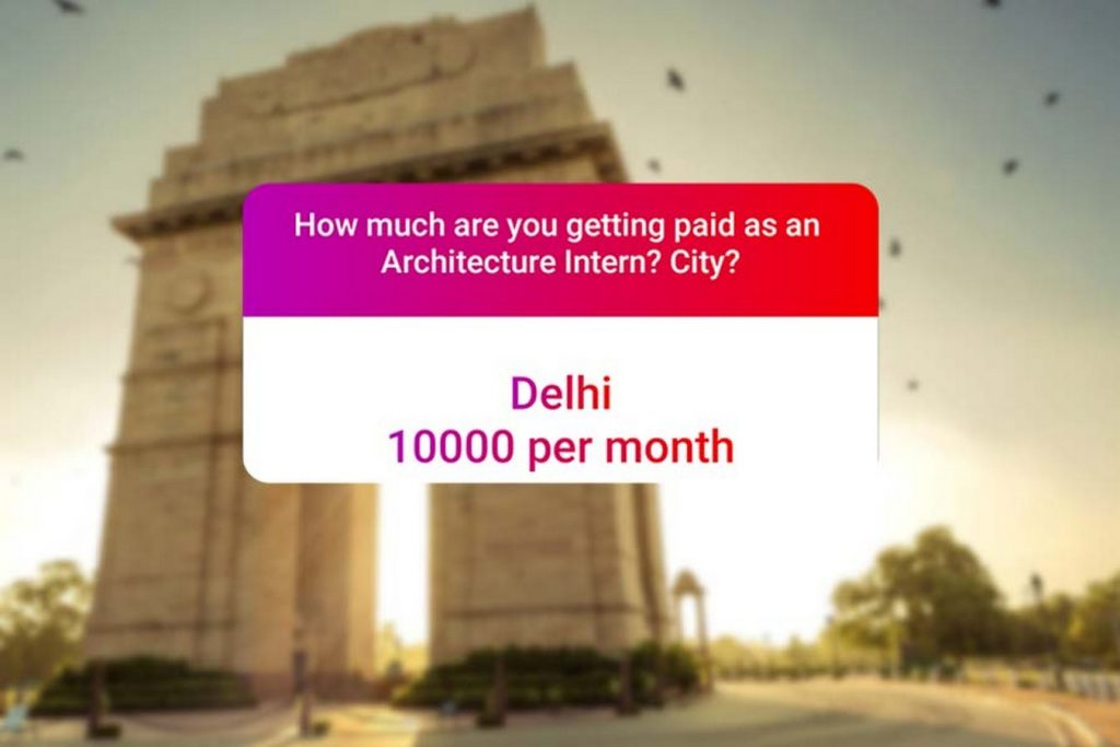 We asked how much Architecture interns get paid in India.. and the results are SAD and HILARIOUS at the same time - Delhi