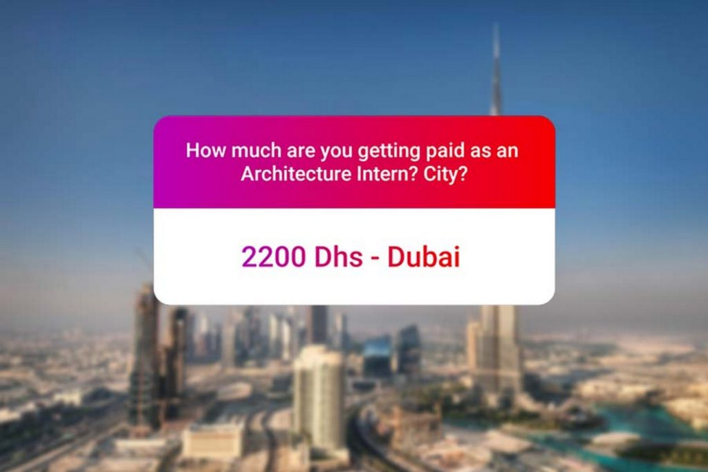 We asked how much Architecture interns get paid in India.. and the results are SAD and HILARIOUS at the same time - Dubai